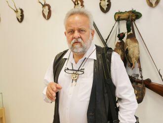 Dr. Szinetár Csaba a Szinetár Miklós emlékkiállításban