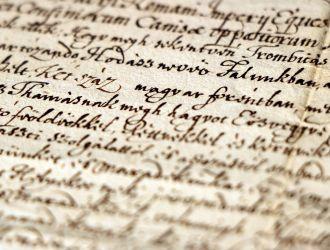 Batthyány I. Ádám oklevelének részlete