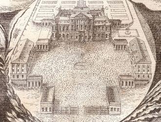 A kastély első ábrázolása