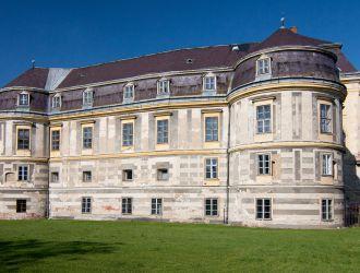 A körmendi Batthyány kastély főépülete nyugatról
