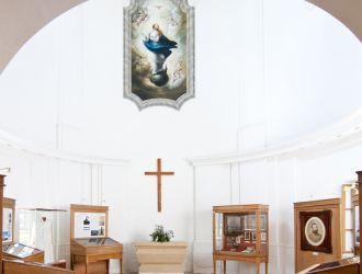 A körmendi Batthyány kastély kápolnája
