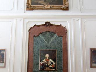 A körmendi Batthyány kastély díszlépcsőháza