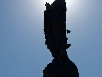 Maria Immaculata szobor Körmend főterén