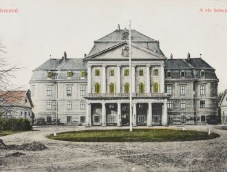 A főépület 1908-ban