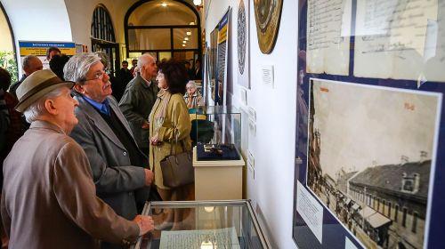 A kiállítás megnyitója Nagykanizsán