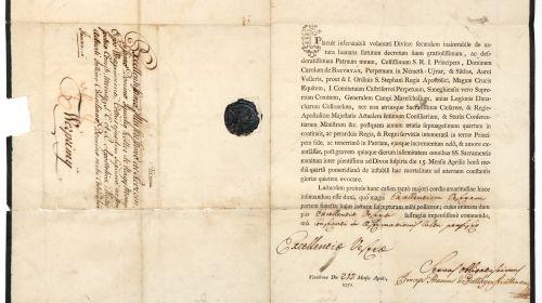 Batthyány Ádám levele Koller Ignácnak
